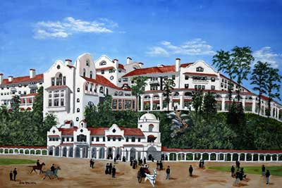 Bronxville Ny View Of Hotel Gramatan My Beloved Paintings